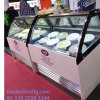 Showcase do gelado dos sabores de Guatemala 8 para a venda