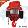 grue 40t à chaînes électrique avec le crochet
