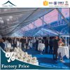 1000 pessoas Luxury Evento de PVC transparente de casamento festa Ourtdoor Garden tenda