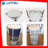 3 gradas que hacen publicidad del vector de aluminio contrario de la exposición de la promoción (LT-07A)