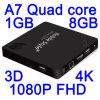 5inch وشاشة HD Mtk6582 / Mtk6589 رباعية النواة الجيل الثالث 3G الروبوت الذكية الهاتف المحمول 1GB RAM 8GB / 16GB ROM (QU920E رباعية)