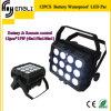 12PCS*15W 4in1 Battery LED PAR für Stage Party Light (HL-037)