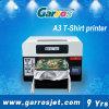 싼 A3 크기 백색 평상형 트레일러 Garros 3D 디지털 면 및 판매를 위한 기계를 인쇄하는 까만 t-셔츠