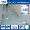 Base de agua epoxi Hualong del Medio Ambiente Pintura de suelo