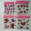 Schitter de Sticker van het Gel van het Venster voor de Gift van de Valentijnskaart