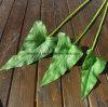 La figura di foglio di seta del giglio di Calla per il Calla di seta della decorazione di cerimonia nuziale lascia il fiore artificiale in linea