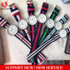 Förderndes Frauen-Armbanduhr-Sport-Uhr-Nylonnato-Brücke-GoldIpg beiläufige Uhr Relogio Masculino der Mann-Yxl-259 Taktgeber-Diamant-Dame-Kleid-Uhren