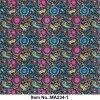 ペーズリーのピンクの多彩な水路測量のフィルムNo. Ma234-1