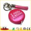 Ledernes Tapeline Keychain und Handhilfsmittel-Leder-Band mit Troddeln