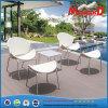 Forma de mariposa de acero Staineless Rattan silla de jardín patio