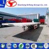중국에서 반 평상형 트레일러 또는 플래트홈 콘테이너 트럭 트레일러