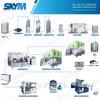 Imbottigliatrice automatica dell'acqua potabile di velocità multipla