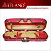 堅く細長いバイオリンの箱の赤(SVC306)