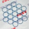 Selo de borracha impermeável da borracha do anel-O da cor diferente de Viton SBR Nr do silicone de NBR EPDM