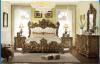 호화스러운 가구 침실 나무로 되는 침대 작풍