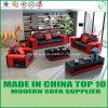 現代余暇の家具のオフィスの革1+2+3ソファーの椅子