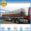 40klアルミ合金のタンカーのトレーラートレーラー40000リットルの高品質の燃料タンクの