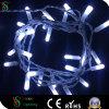 Cadena de luz cable de PVC transparente de Navidad LED