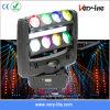Nieuwe 8PCS*10W RGBW LED Moving Head Spider Light