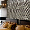 Metal Silver Mosaic Tile para Floor y Wall