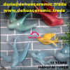 dB1084 het eenvoudige Decor van de Tuin van de Ornamenten van de Kunst van de Muur van de Standbeelden van het Beeldje van de Vogel van het Porselein Ceramische