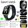 Montre intelligente de vente chaude de Bluetooth avec le moniteur du rythme cardiaque (A9)