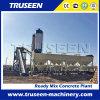 Конкретный смешивая завод Hzs90 используемый для делать коммерчески бетон