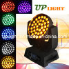 36pcs*18W y 6 en 1 LED Rgbwauv Luz Zoom