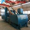 Máquina del chorreo con granalla de la eficacia alta de Cleaningpopular de la superficie de la placa de acero