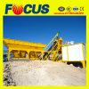 Planta de procesamiento por lotes por lotes concreta móvil del cemento de la planta automática de Bathching (YHZS25)