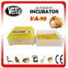 Incubateur complètement automatique d'oeufs de veine de 96 oeufs petit
