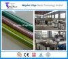 Máquina del estirador del manguito del tejido de la fibra del PVC/cadena de producción de alta presión