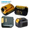 Dewalt 18V Lithium-Ionwiedereinbau-Energien-Werkzeug-Batterie-drahtlose Bohrgerät-Batterie