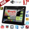 9.7インチのタブレットのPCサポートWiFi +外面3G + Bluetooth +人間の特徴をもつ3.2+Dual中心(PL-1010B)