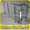 Satinado 304 Acero Barandilla Barandilla de acero para escaleras