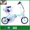bicyclette électrique de bâti d'alliage d'aluminium de la batterie au lithium 36V 14 ''