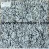 Белый опрыскивания (морской волны) гранитные плитки для малых и больших слоев REST
