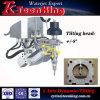 5 Machine Om metaal te snijden van de Straal van het Water van de as de Dynamische Overhellende