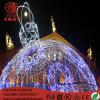 Het Licht van het Motief van de Bal van LEIDENE Gaint van de Verlichting voor de OpenluchtDecoratie van Kerstmis