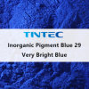 Pigmento azul inorgánico 29 para recubrimiento de plástico y muy brillante (azul).