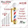 Nuevo peluquero poste decorativo, luz del diseño M338 de la muestra del salón