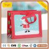 Мешок красного старика рождества бумажный, мешок подарка бумажный