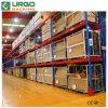 Ferro prateleiras de armazenagem de paletes vazios no Depósito de Rack Remoto
