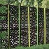Laser 커트 로즈 금 미러 가는선 스테인리스 스크린 위원회 Mashrabiya Curtain 벽 클래딩 Architectural 정면