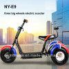 Triciclo elétrico novo das vendas 2017 da fábrica para a carga
