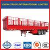 실용적인 화물 트럭 트랙터 트레일러가 3개의 차축 가축에 의하여 반 경계를 표시한다