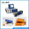 Código de alta velocidade de Qr da impressão de laser da fibra no tampão de frasco (EC-laser)