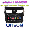 Witson 10.2  닛산 Teana 2013년을%s Big Screen Android 6.0 Car DVD