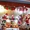 Pendente d'attaccatura del soffitto di natale della decorazione dell'ornamento dei paracadute domestici del Babbo Natale