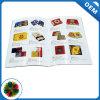 Laminación brillante papel Arte imprimir folletos con todo el Color